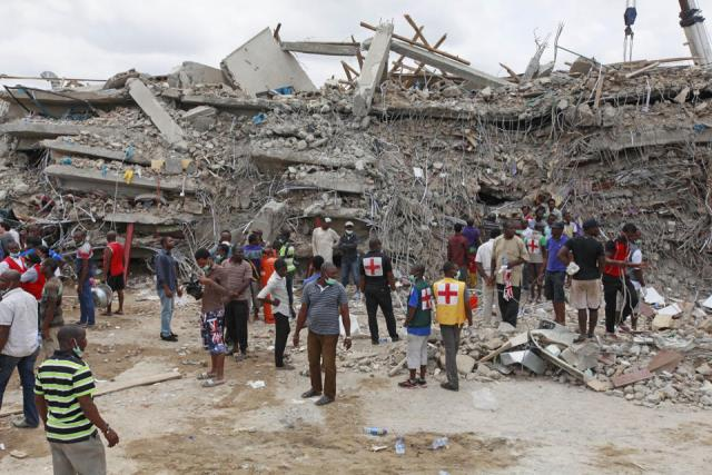 45 dead after Nigeria building collapse