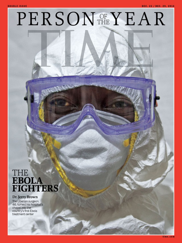 TIME Magazine Names Ebola Fighters 'Person of the Year'