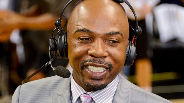 Former NBA player-turned-broadcaster Greg Anthony faces charges of soliciting a prostitue after being arrested Friday.