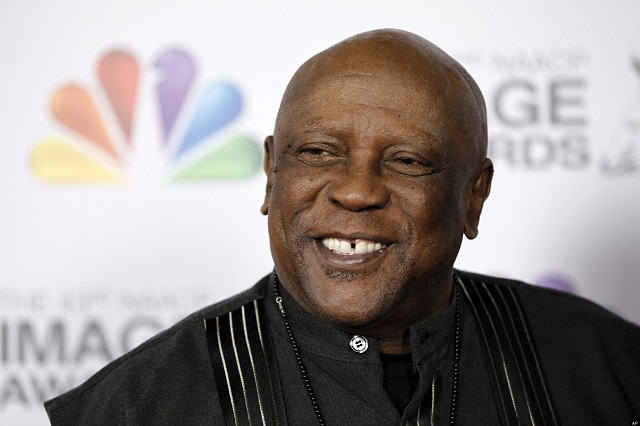 In this picture, Louis Gossett Jr. arrives at the 43rd NAACP Image Awards on Friday, Feb. 17, 2012, in Los Angeles. (AP Photo/Matt Sayles)