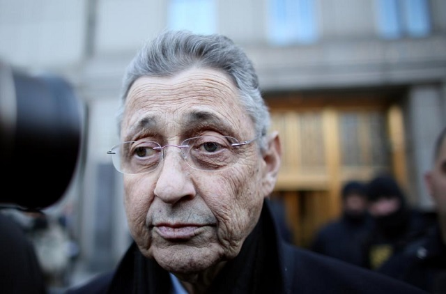 Sheldon Silver is expected to be removed as speaker Monday.