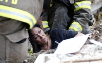 Scenes of horror, panic, rescue and relief