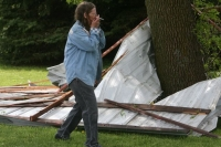 Tornadoes level homes in Okla., hit other states
